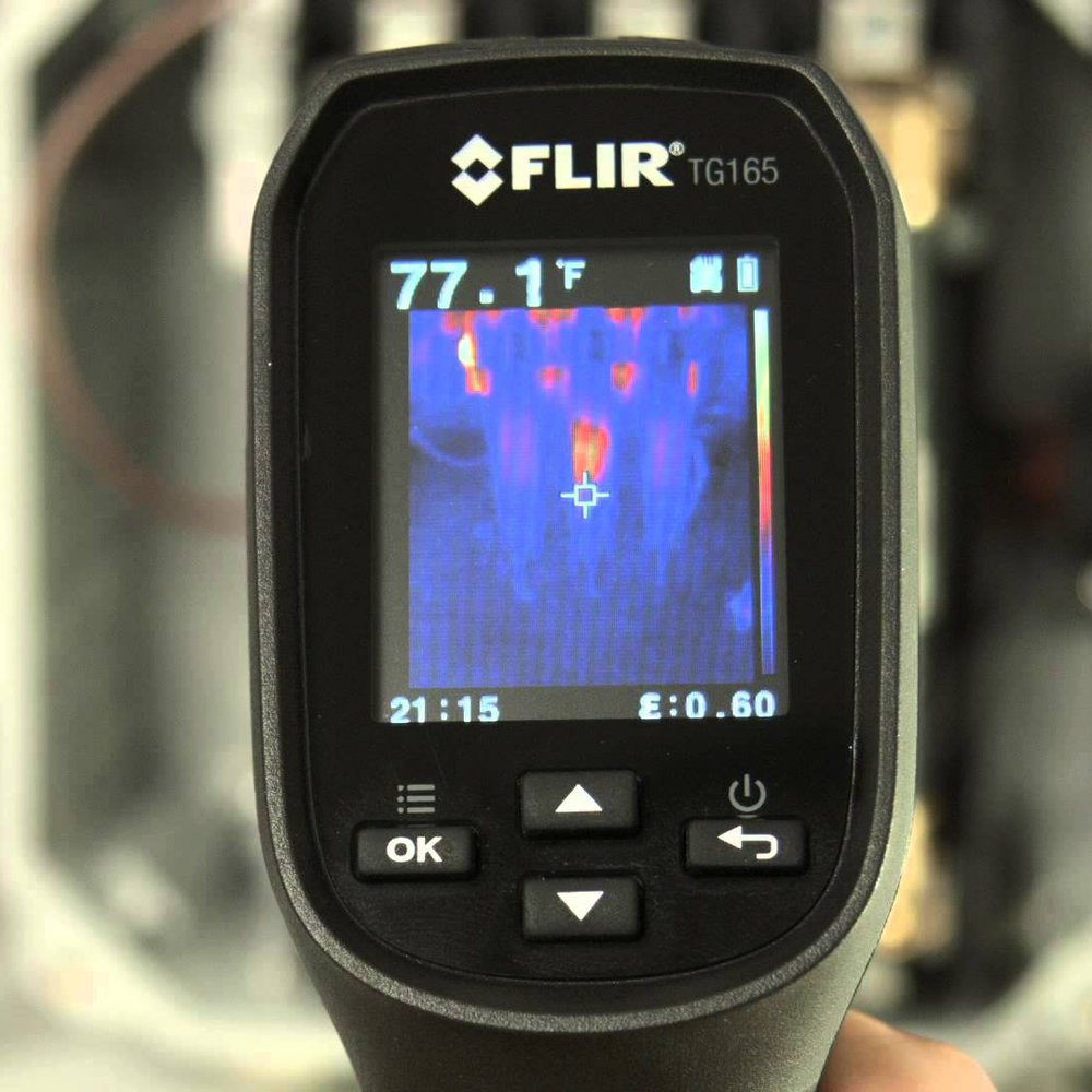 FLIR TG165 Visual Thermometer Gallery Image